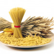 Royalty-Free Stock Photo: Close up of the background pasta