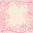 Royalty-Free Stock Vector Image: Floral pattern pink