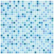 Stock Vector: Blue mosaic background