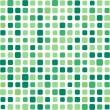 Green square mosaic background — Stock Vector #3615604
