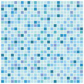 Blue mosaic background — Stock Vector