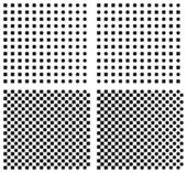 Set of halftone background — Stock Vector