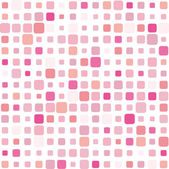 Pink mosaic background — Stock Vector