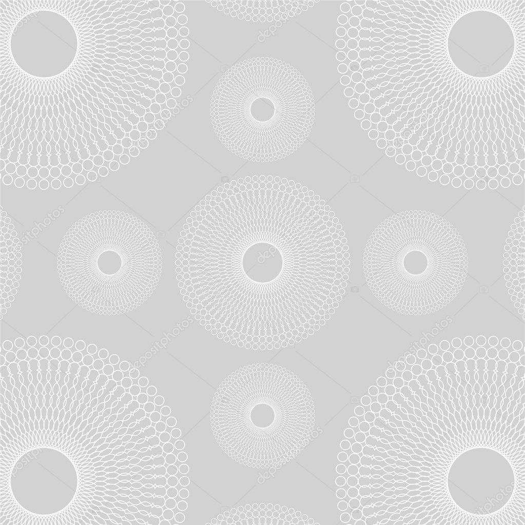 Spirograph vector gray pattern — Stock Vector #3615321