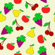 Royalty-Free Stock Vector Image: Fruit background