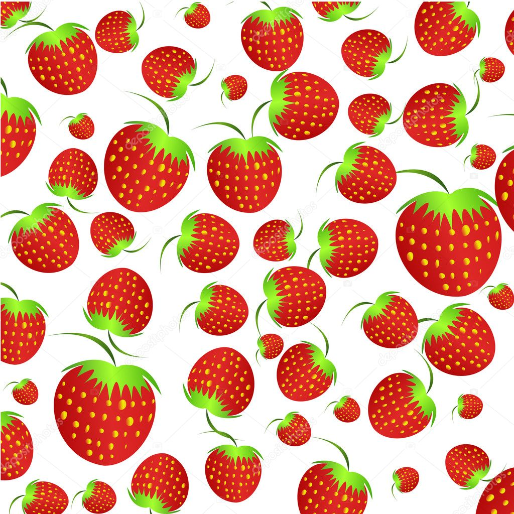 Twitter Backgrounds Strawberries Strawberry on White Background