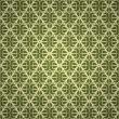 Seamless green wallpaper — Stock Vector #3854996