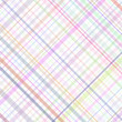 Pastel stripes plaid — Imagen vectorial
