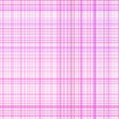 Pastel pink plaid — Stock Vector