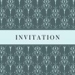 Invitation card — Stock Vector #3855808