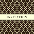 Invitation card — Stock Vector #3858739