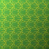 Seamless organic wallpaper — Stock Vector