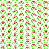 Rose nahtlose hintergrund — Stockvektor