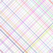 Plaid rayures pastel — Vecteur