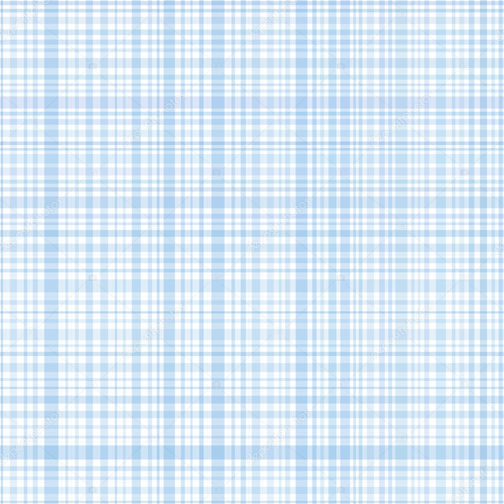 Pastel  blue stripes plaid  Stock Vector #3855698