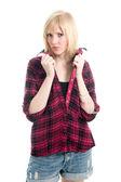 Módní mladé ženy — Stock fotografie