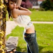 Beautiful teenager girl - Stock fotografie
