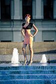 Mulheres jovens elegantes — Foto Stock