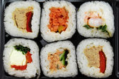 Sushi futomaki selection — Stock Photo
