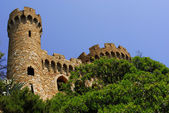 Sant Joan castle in Lloret De Mar, Costa Brava — Stock Photo