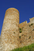 Castle in Tossa Del Mar,Costa Brava — Stock Photo
