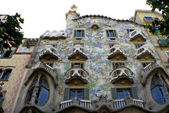 Casa Batllo by Antoni Gaudi in Barselona — Stock Photo
