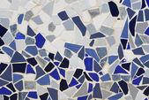 Ceramic mosaic wall — Stock fotografie