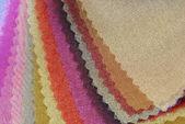 欧根纱织物纹理取样器 — 图库照片