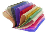 Organza textilie textura sampler — Stock fotografie