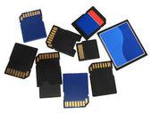 Paměťové karty — Stock fotografie