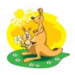 Kangaroo — Stock Vector #2825560