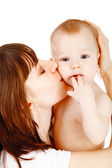 Baby with mother — Stock Photo