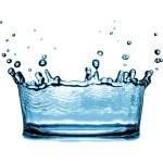 Water splash — Stock Photo