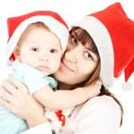 Christmas Family — Stock Photo