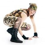 Military woman — Stock Photo #2996806