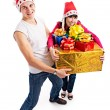 Lucky in Christmas — Stock Photo