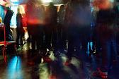 Ballroom in club — Stock Photo