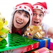 With gift for Christmas — Stock Photo #3143779