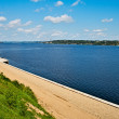 River Volga - Stock Photo