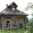 Stock Photo: Abandoned house