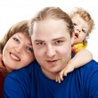 Stock Photo: Lucky family