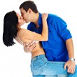 Royalty-Free Stock Photo: Passionate kiss