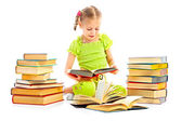 Child with book — Stock Photo