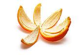 Orange rind — Stock Photo