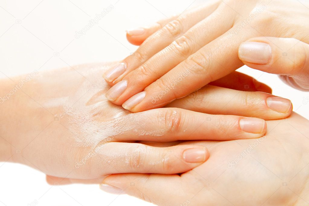 Hand massage stock photo kot2626 3376318 for 33 fingers salon