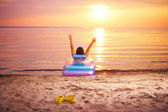 Sunbathing — Stock Photo