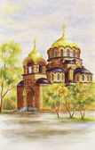 Cathedral of Alexander Nevskij — Stock Photo