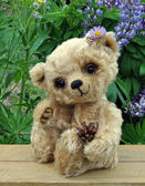 Teddy-bear Lucky — Stock Photo