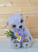 Chupa with a bouquet — Stock Photo
