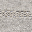 The Ukrainian homespun linen cloth — Stock Photo
